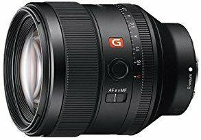 Sony 85mm 1.4 GM objektiv (bei Amazon.es)