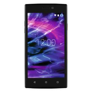 MEDION Smartphone E5005 (MD 99915) 5 Zoll, Quad-Core, Schwarz inkl. 25 € Google Play Karte für 62€ [Real]