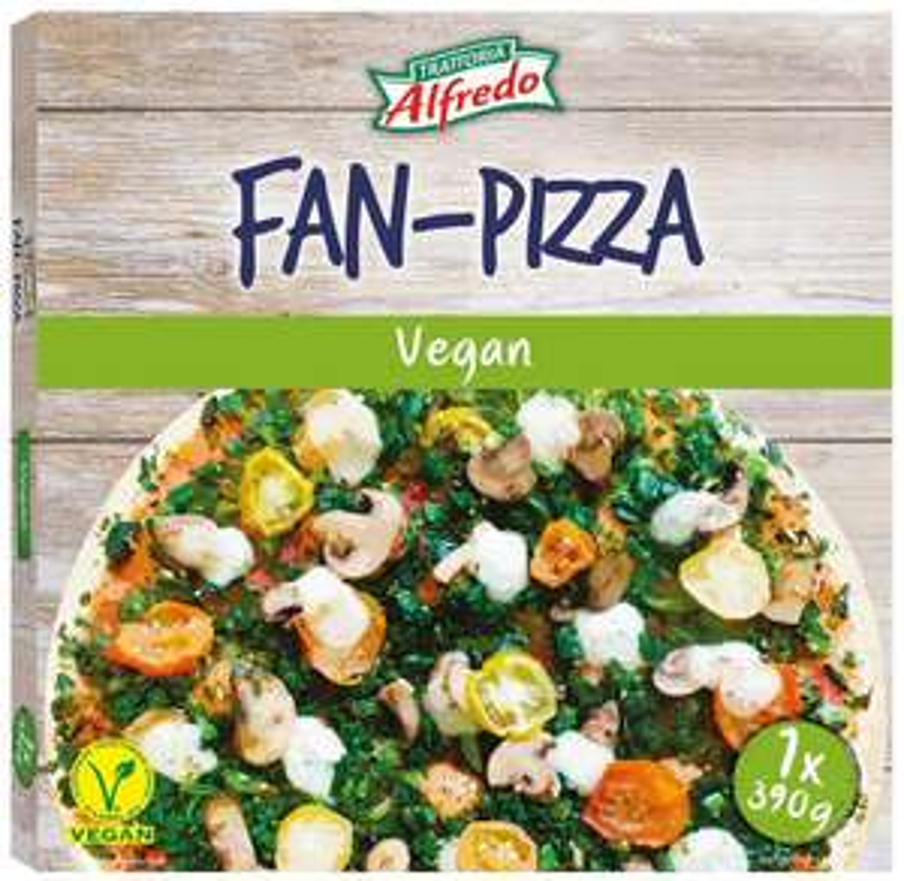 [LIDL] Vegane Pizza für 1€: Fan-Pizza Vegan und Pizza-Bruschetta Vegan ab Mo.19.2. (Trattoria Alfredo)