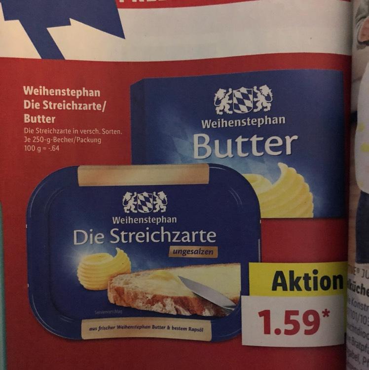 Weihenstephan Die Streichzarte und Butter