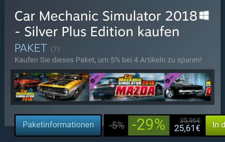 Car Mechanic Simulator 2018 - Silver Plus Edition