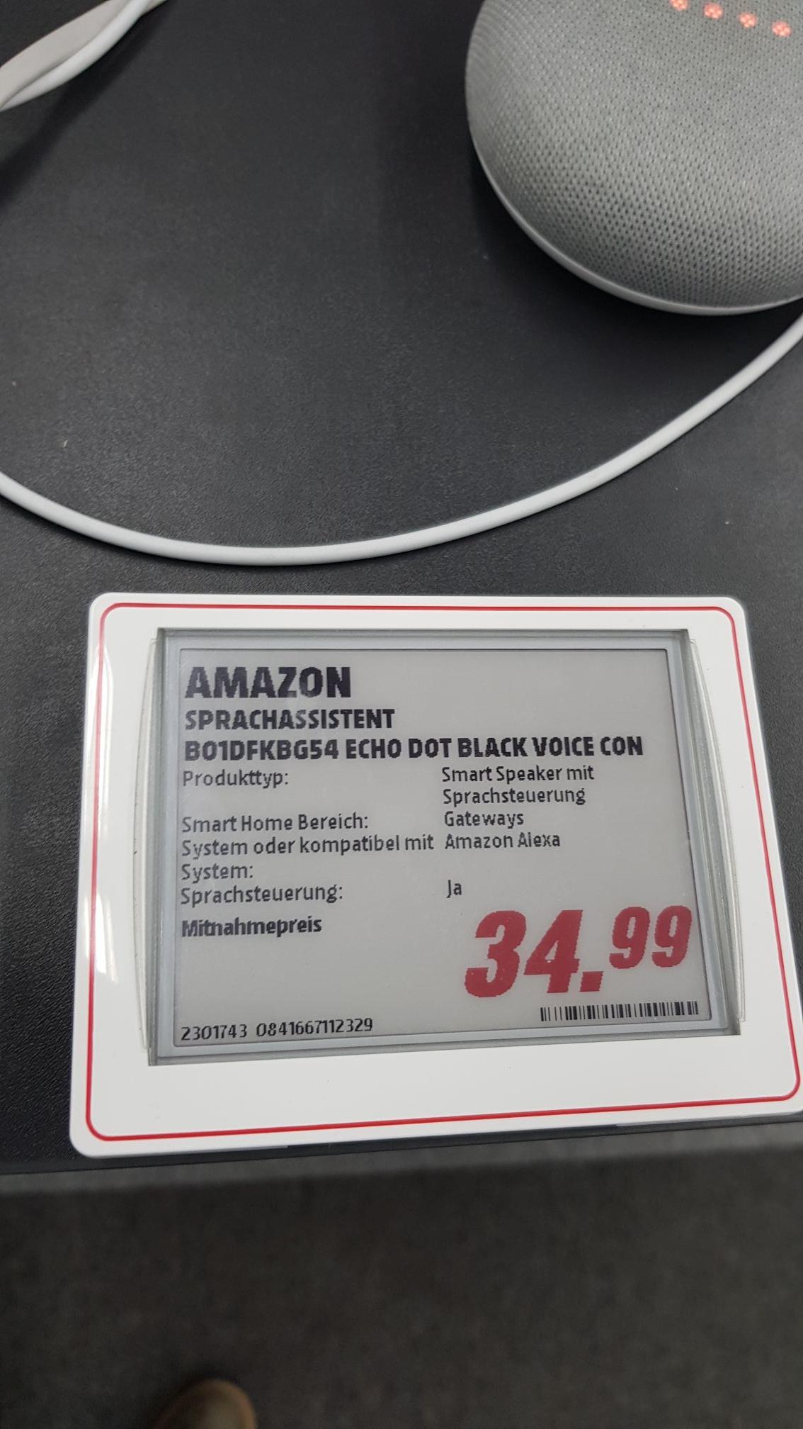 [LOKAL MM Lippstadt] Amazon Echo Dot (Alexa) 2. Generation