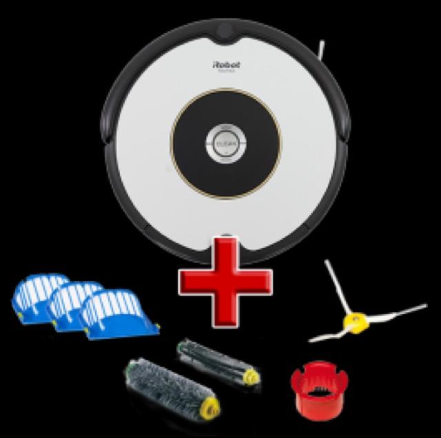 Roomba 605 + Zubehör + 5 Jahre Garantie bei myrobotcenter