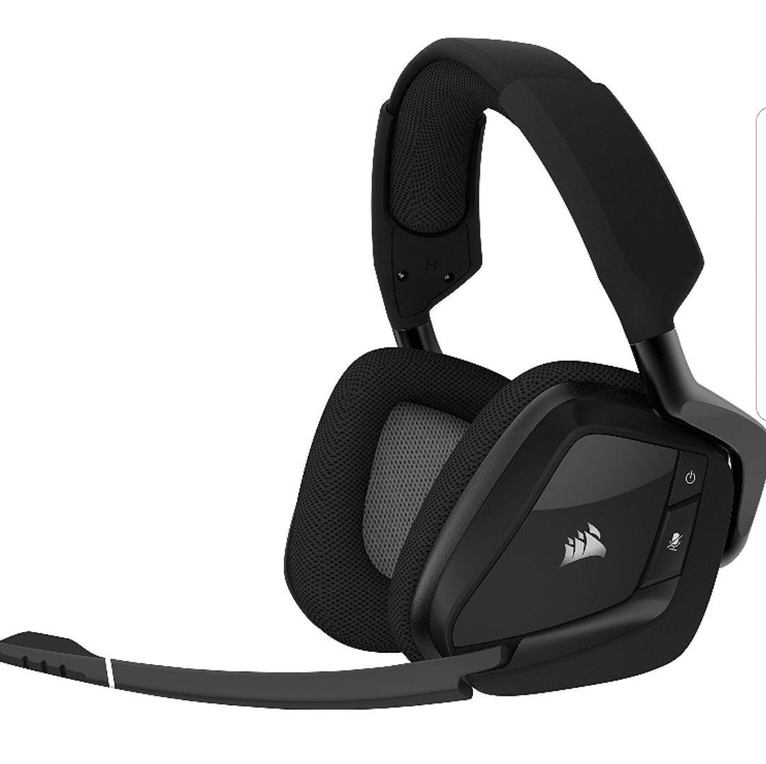 [Amazon.Blitzangebot] Corsair VOID PRO RGB WIRELESS Gaming Headset (PC, Wireless, Dolby 7.1) schwarz
