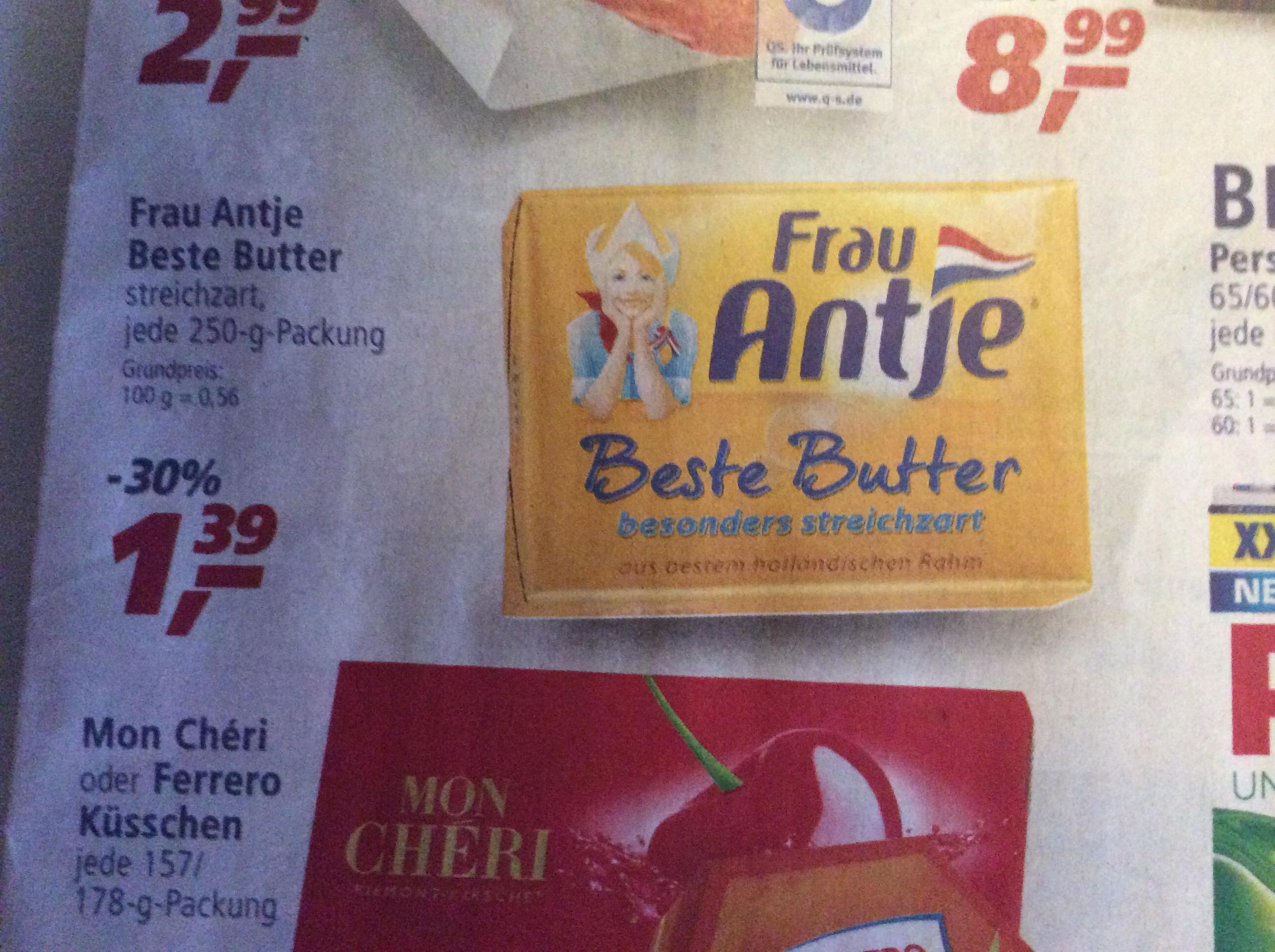 Frau Antje Beste Butter (Real offline)
