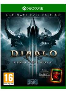 Diablo III: Reaper of Souls Ultimate Evil Edition (Xbox One) für 18,38€ (Base.com)