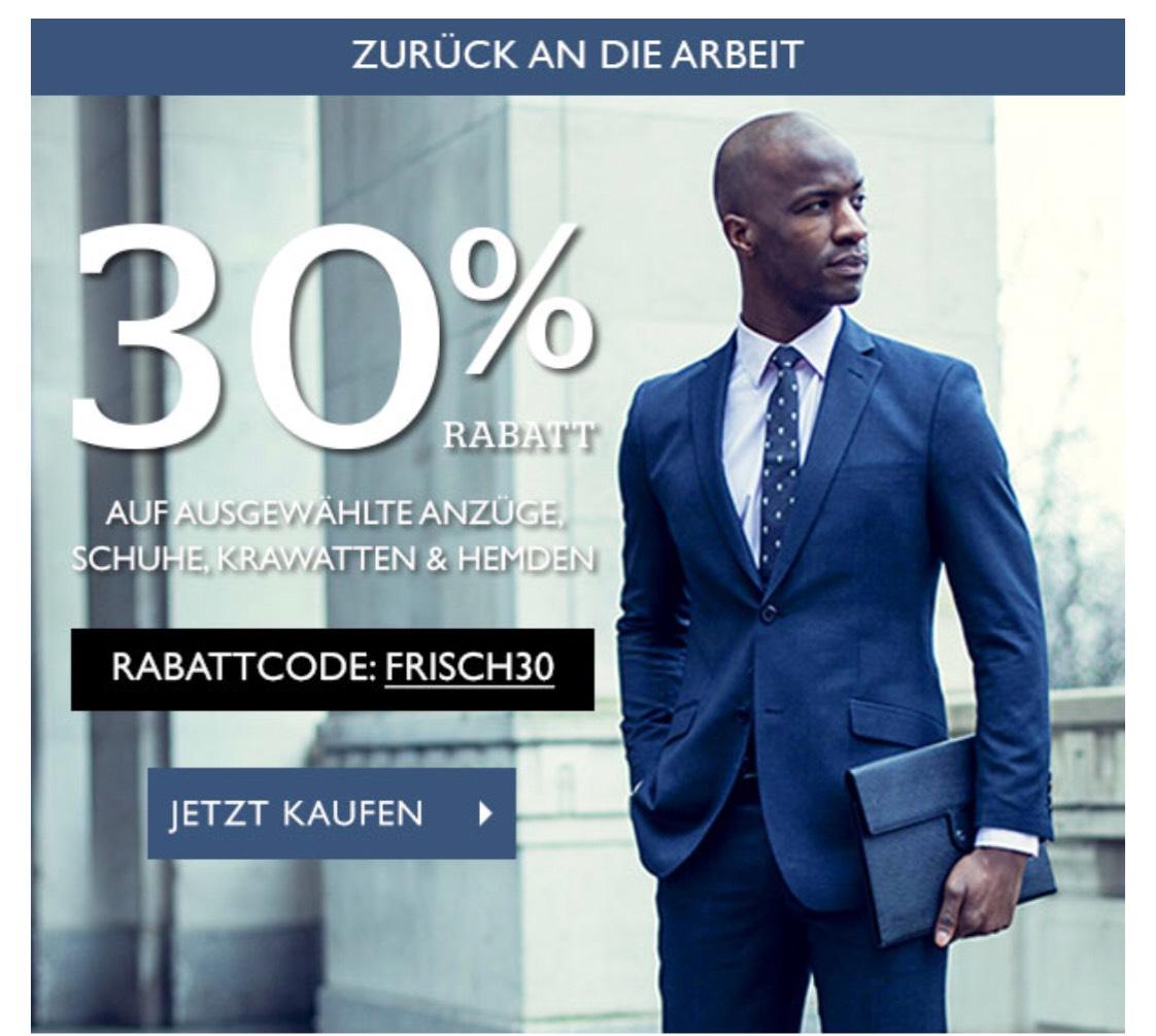 30% Rabatt auf Businesskleidung bei Dobell.de & 20% auf alles!
