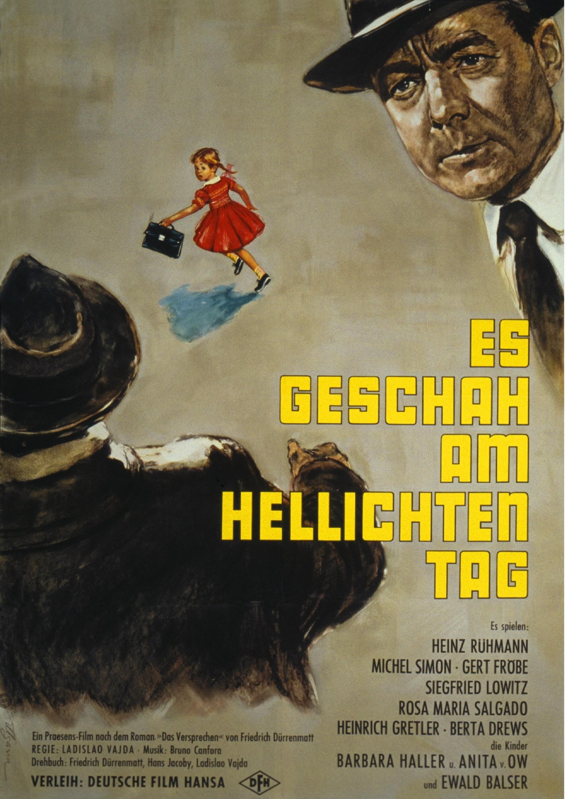 """[ARTE Mediathek] """"Es geschah am hellichten Tag"""" mit Heinz Rühmann und Gerd Fröbe"""