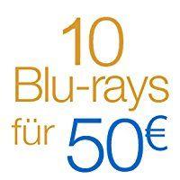 10 Blu-Rays für 50€ [Amazon.de]