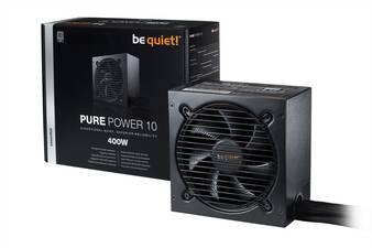 """be quiet!™ - PC ATX-Netzteil """"Pure Power 10 400W (BN272)"""" [80 PLUS Silver zertifiziert] ab €42,55 [@Voelkner.de]"""