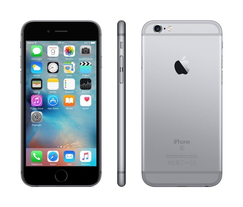 Apple Iphone 6S 16GB Space Gray (Zertifiziert und Generalüberholt) FKQJ2X/A - Verkauf und Versand durch Amazon