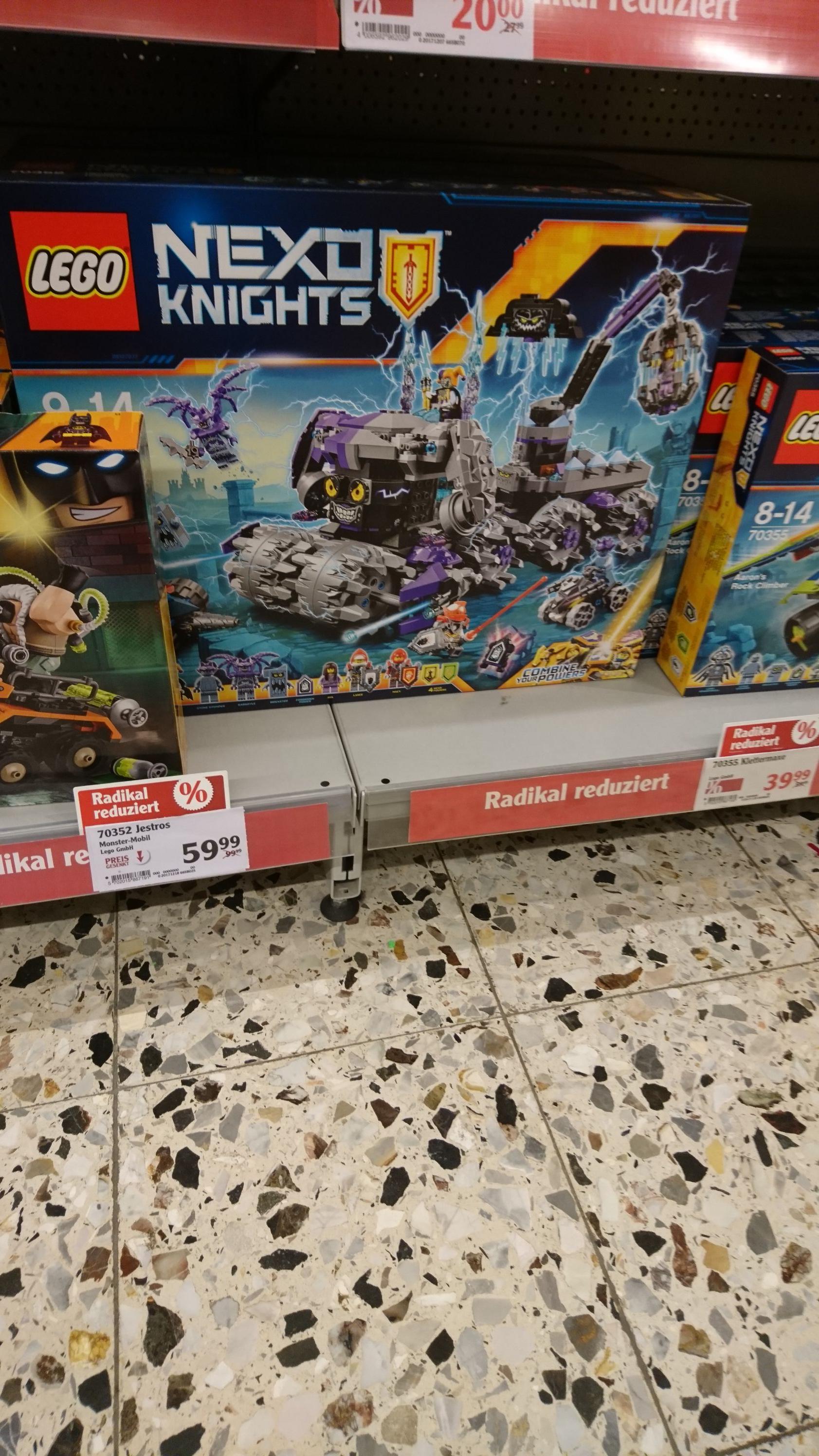 Lokal Globus Hockenheim Lego 70352 Jestros Monster Mobil