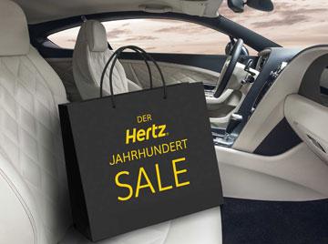 Hertz-Mietwagen mit bis zu 20% Rabatt