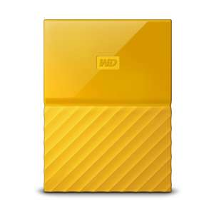 "[notebooksilliger.de] WD My Passport 3TB, 2,5"", Gelb [Mobile Festplatte]"