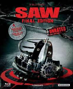 SAW 1-7 Box - UNRATED - Final Edition - (8 Blu-rays)