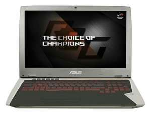 "Notebook PC 17.3"" ASUS ROG G701VI-BA034T - Full HD IPS 120 Hz G-SYNC, i7-6700HQ, RAM 16 GB, RAID0 SDD PCIe 512 GB, GTX 1080"
