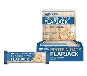 Optimum Nutrition Protein Oats Flapjack 960 g (12 x 80 g)