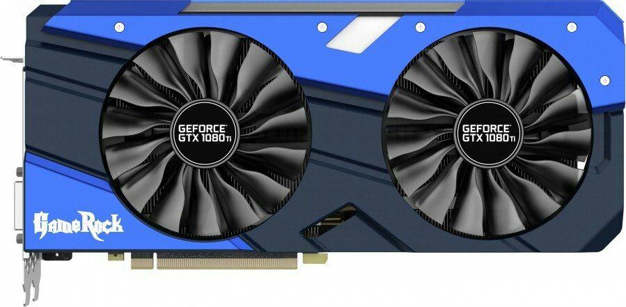 [Schweiz-Mediamarkt.ch] Palit GeForce GTX 1080 Ti GameRock Grafikkarte - 11 GB GDDR5X