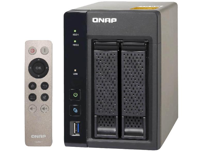 Qnap TS-253A 4G 2-Bay NAS um € 299,- bei Mediamarkt.at