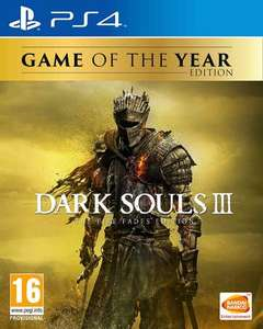 Dark Souls III: The Fire Fades Edition Game of the Year Edition (PS4 & Xbox One) für je 28,10€ (ShopTo)