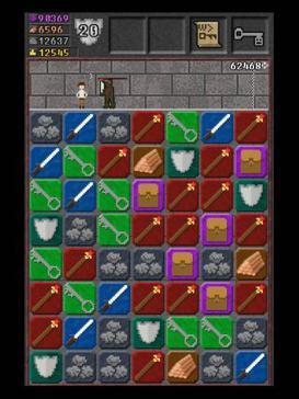 [iOS] 10000000 - Spiel - lustige Dungeon Crawler / Match 3 Kombination