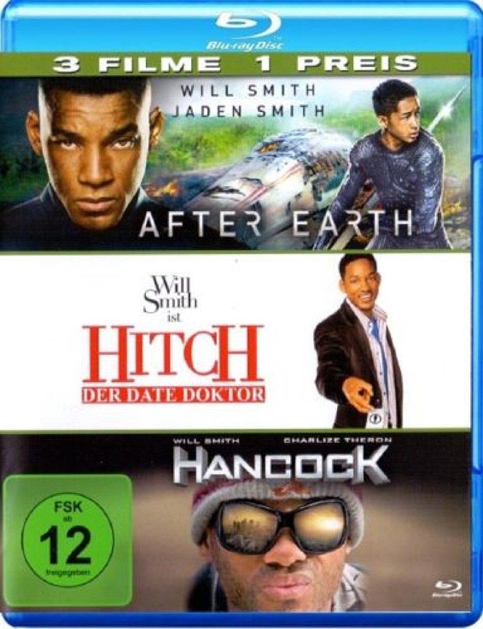 Hancock / Hitch / After Earth 3 Pack (Blu-ray) & Das ist das Ende / The Interview / Superbad 3 Film Collection (Blu-ray) für je 7€ versandkostenfrei (Media Markt)