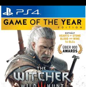 THE WITCHER 3 Game of the Year Edition [PS4]