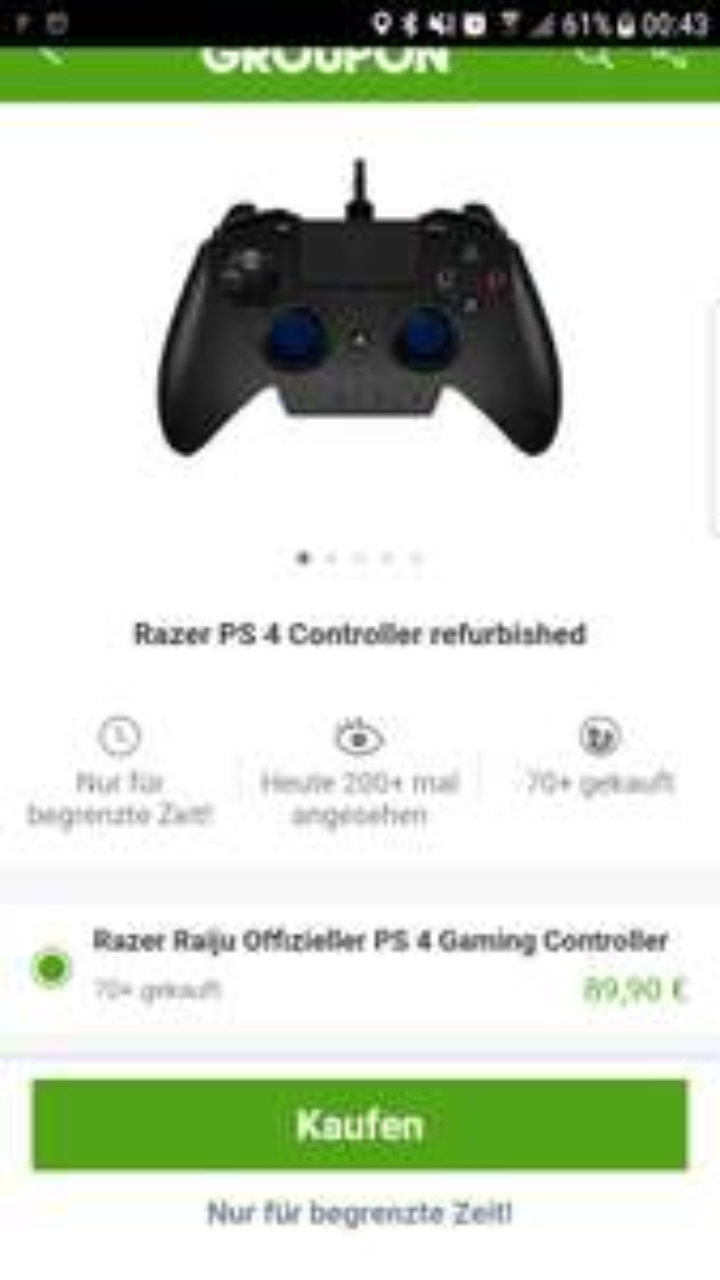 Razer raiju refurbished