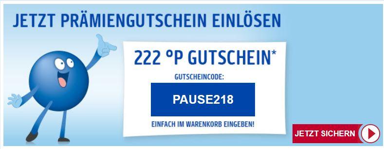 PAYBACK - 222 PUNKTE GUTSCHEIN