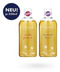 Massageöl Vanille & Lavendel, je 250 ml zusammen nur 5,97€