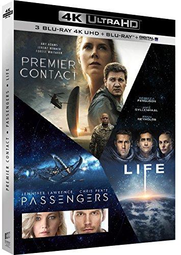 Arrival + Passengers + Life (4K Blu-ray + Blu-ray + Digitale Kopie) für 31,52€ (Amazon.fr)