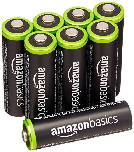 [Amazon Prime] 8 x AmazonBasics Ni-MH AA Akkus 2000mAh (10,92€ im Spar-Abo, Studenten 9,20€,  15% Spar-Abo und  Prime Student für 8,05€)