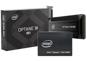 "Intel Optane 900P Series 280GB [2,5"", PCIe NVMe 3.0 x4, 3D XPoint] Next Generation Speicher"