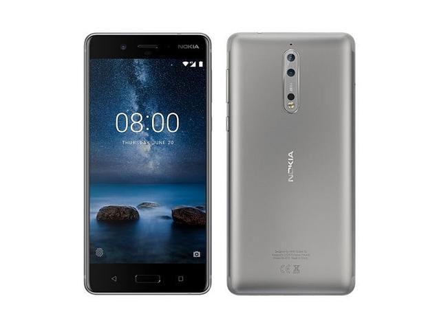 Nokia 8 64 GB (steel)