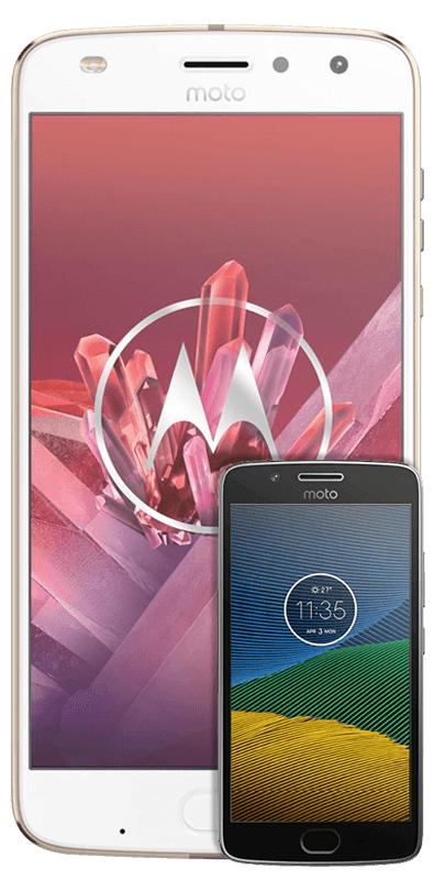 MOTOROLA Moto Z2 Play inkl. JBL SoundBoost 2 & Motorola Moto G5 (Vertrag, kein LTE!!)