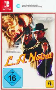 L.A. Noire (Nintendo Switch/PS4/Xbox One) für 26,99€ (Müller)