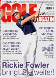 Golfmagazin Abo für 1 Jahr (12 Ausgaben) für 82,80 € mit 75€ Amazon-Gutschein oder 70€ Verrechnungsscheck