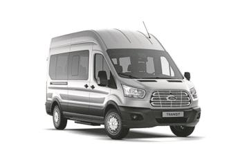 [Gewerbeleasing] Ford Transit Kombi 350 L2H3 Trend inkl. Wartung & Verschleiß für 61,00 € Netto / 72,59 € Brutto leasen (24 Monate, 10.000 km / Jahr)