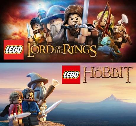 Steam - Lego - Der Hobbit und Der Herr der Ringe für je 5,00 €