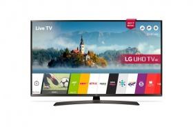 LG 43UJ635V 108cm (43 Zoll) 4K UHD Active HDR Smart TV Fernseher Triple Tuner EEK: A