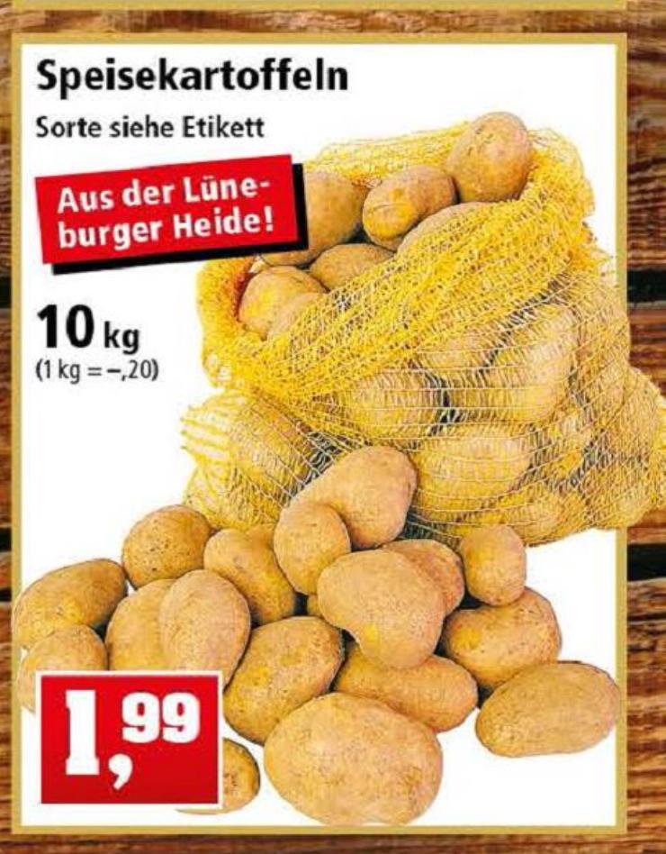 Thomas Philipps, 10 Kg Kartoffeln aus der Lüneburger Heide