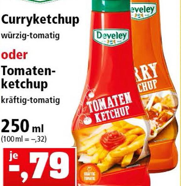 (Thomas Philipps ab 26.02.) Develey Gewürz Saucen 250ml für 0,79€ - McDonalds Sauce