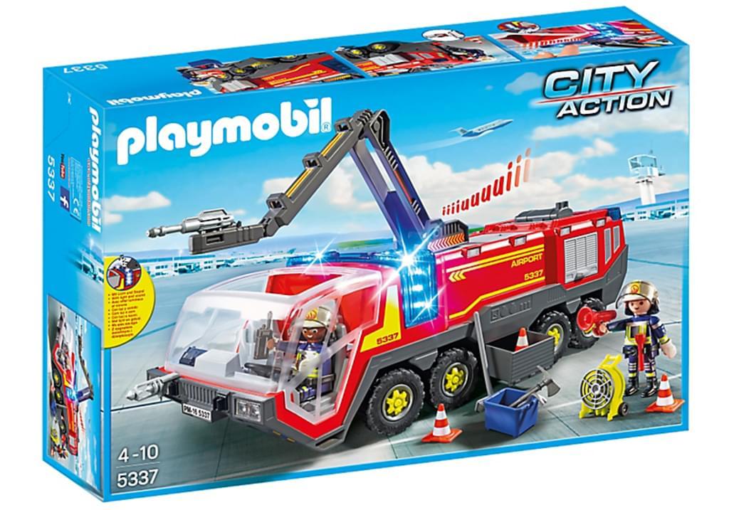 Playmobil City Action - Flughafenlöschfahrzeug mit Licht und Sound 5337 für 27 € bei Marktabholung [real.de]