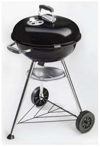 Real Onlineshop, Weber Compact Kugelgrill, 47cm Durchmesser