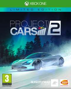 Project Cars 2 - Limited Edition (Xbox One & PS4) für je 34,12€ (Amazon IT)