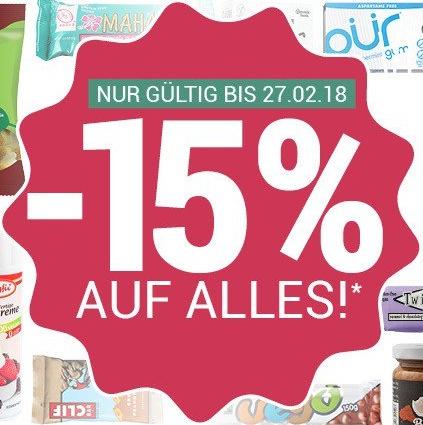 15% Rabatt auf Alles* bei alles-vegetarisch.de + ein SimplyV-Produkt Gratis² (VEGAN)