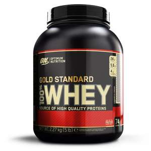 ON Gold Standard Whey 2270 Gramm für 42,42€