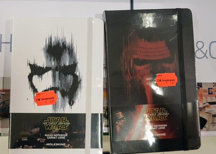 Star Wars Moleskin Notizbücher A5 (regional?)