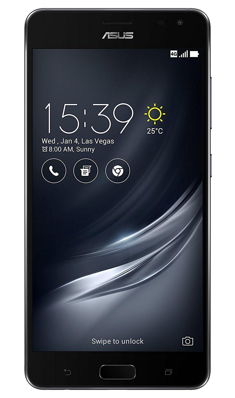 ASUS ZenFone AR (ZS571KL) Dual-SIM Smartphone (14,5 cm (5,7 Zoll ) Full-HD Touch-Display, 128GB Speicher, Android 7.0) schwarz für 499€ VSK frei [Media Markt]