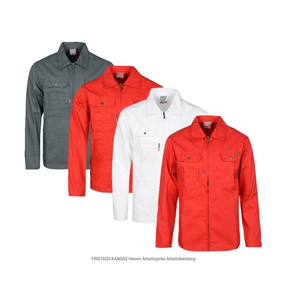 FRISTADS KANSAS Herren Arbeitsjacke Arbeitskleidung kostenlos bei Bestellungen ab 19€ dazu